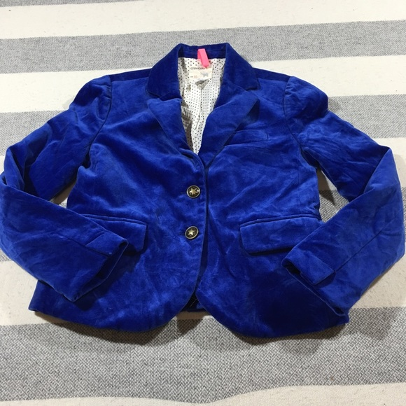 c8da229308e3 Crewcuts Jackets & Coats | J Crew Girls Velvet Schoolboy Blazer 10 ...